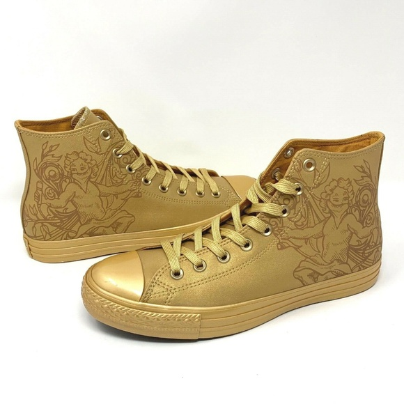 ed4f2e5738db Converse Chuck Taylor Gold Wheat Angel Shoes - New